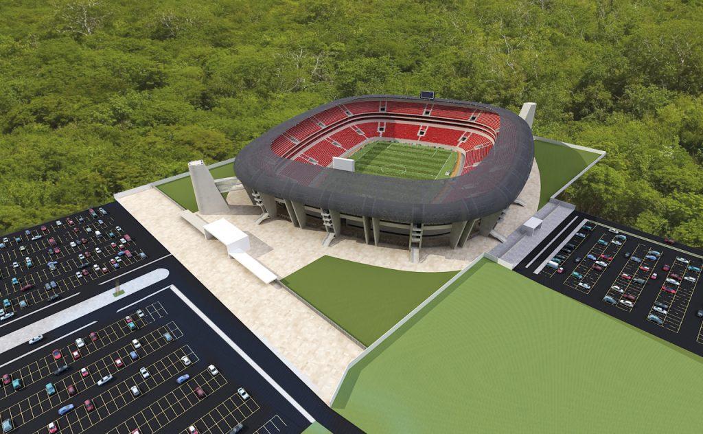 Estadio De Futbol De Los Venados De Yucatán - 01