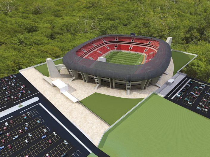 Estadio de Futbol de Los Venados de Yucatan