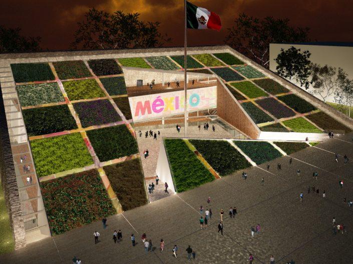 Pabellón de México en Shangai