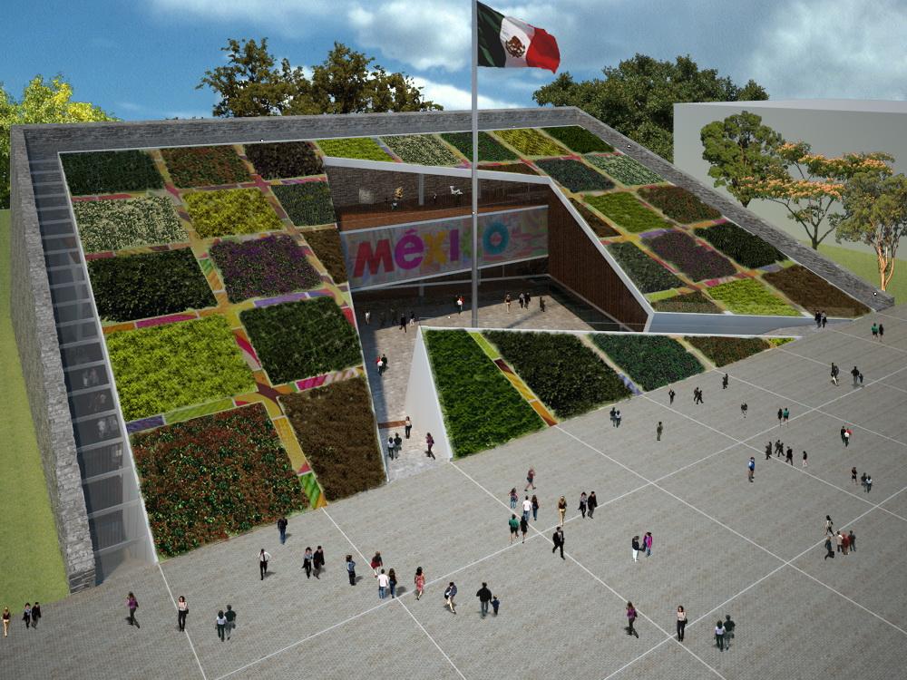 Pabellón de México en Shangai - 03